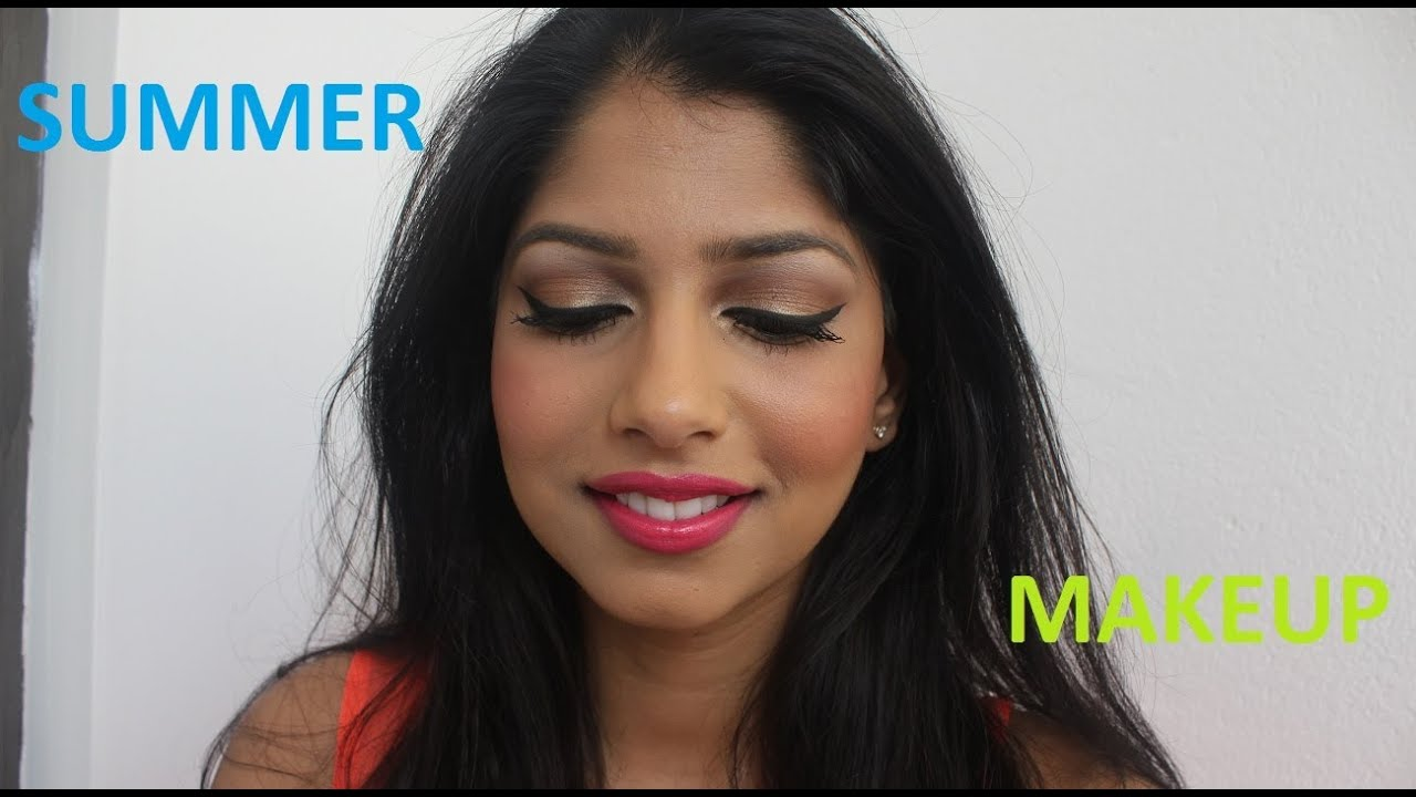 Summer Makeup Perfect For Brown Indian Olive Skintone