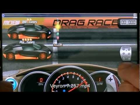 Drag Racing 7.257 Bugatti Veyron Super Sport Tune