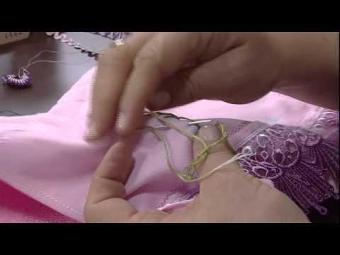 Mulher.com 19/06/2014 - Bordado Sianinha por Valeria Soares - Parte 2