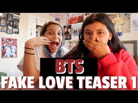 BTS (방탄소년단) 'FAKE LOVE' Official Teaser 1 REACTION!!!