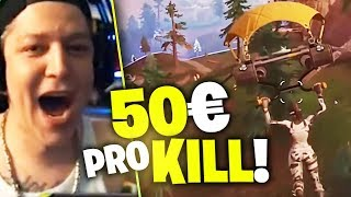 50 Euro Pro Kill | Monte Fortnite Turnier | SpontanaBlack