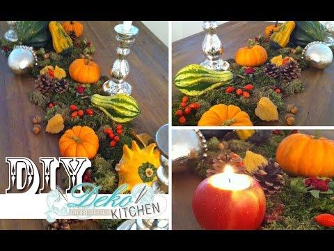 Diy Opulente Herbst Deko F R Den Tisch Deko Kitchen