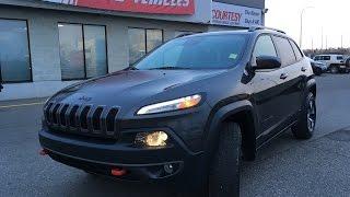 2014 Jeep Cherokee | Trailhawk | Granite Crystal Metallic | Courtesy Chrysler