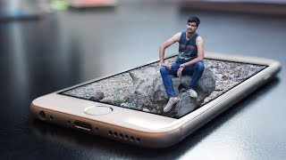 3D mobile manipulation | Photoshop Editing Tutorials