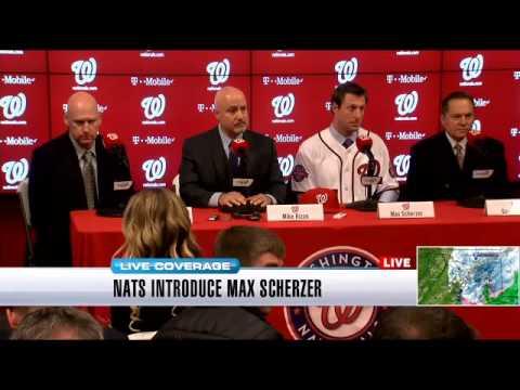 Nats introduce Max Scherzer (Part 1)