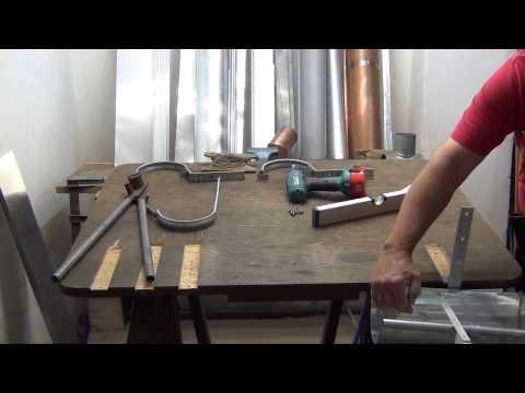 Rinnenhalter Montieren  -   Vorgehängte Dachrinne - Beispiel -
