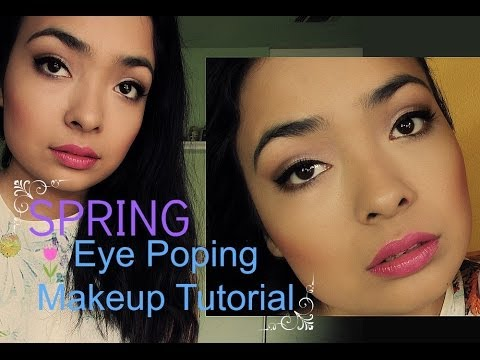 ♡Eye Tutorial: Spring Eye Popping Look♡