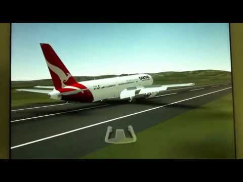 infinite flight qantas airlines landing