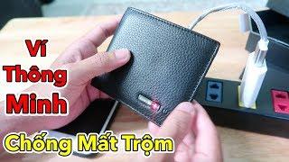 Lâm Vlog - Dùng Thử Ví Thông Minh Chống Mất Trộm Giá 400k   Smart Wallet $20