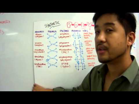 Tenby Year 11 Organic Lesson 7: Synthetic Polymers - Part One thumbnail