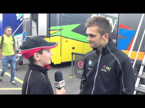 BTCC Rockingham 2014 - Colin Turkington eBay Motors Racing