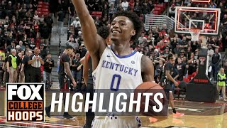 Kentucky goes down to the wire in OT, holds off Texas Tech, 76-74 | FOX COLLEGE HOOPS HIGHLIGHTS