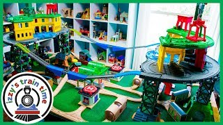 Thomas and Friends | DOUBLE SUPER STATION! Thomas Train with Trackmaster | Toy Trains for Kids