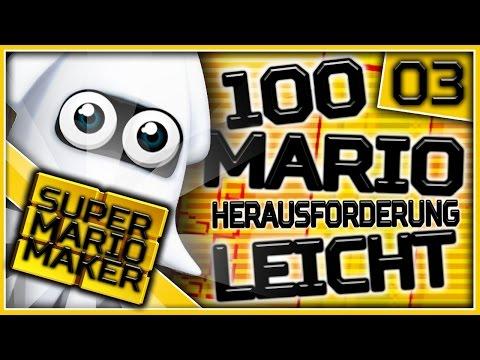 Super Mario Maker Online - 100-Mario-Herausforderung: Leicht! | Part 3