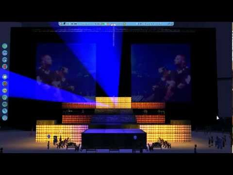 Watch The Throne Tour Stage Watch The Throne Tour Stage in