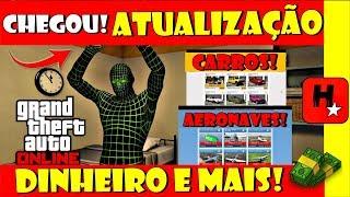 GTA V: NOVA ATUALIZAÇÃO NO GTA 5 ONLINE + CARROS *DINHEIRO* E MUITO MAIS !!! (NEW UPDATE GTA ONLINE)