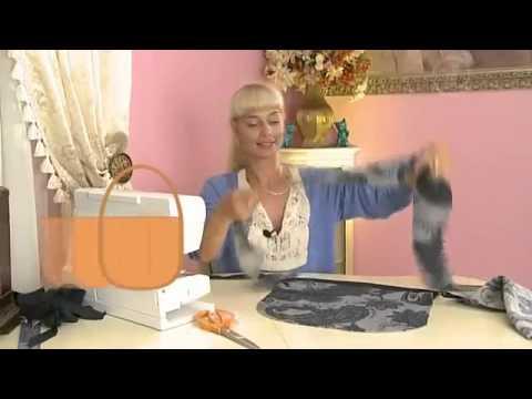 Como hacer una bolsa bolso de tela youtube - Como forrar una caja con tela ...
