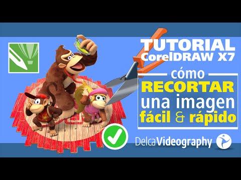 CorelDraw X7 Tutorial 3: Cómo recortar imágenes de forma fácil y rápida