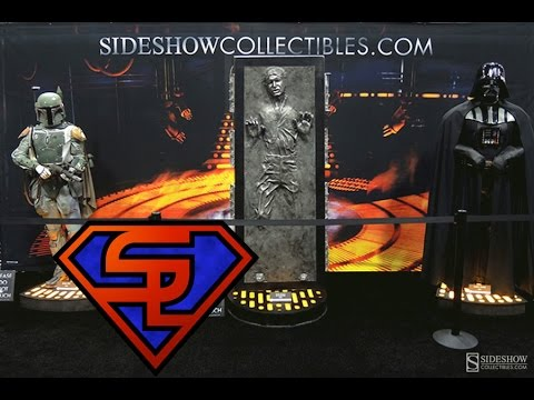 Sideshow Collectibles Star Wars San Diego Comic-Con 2014 Display