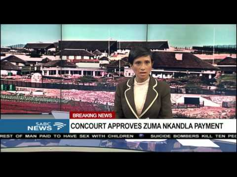 BREAKING: ConCourt approves Zuma Nkandla payment