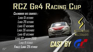 [Part 2/3] RCZ Racing Cup by STORM | GT Sport Manche 5 : Interlagos | Gran Turismo Sport FR