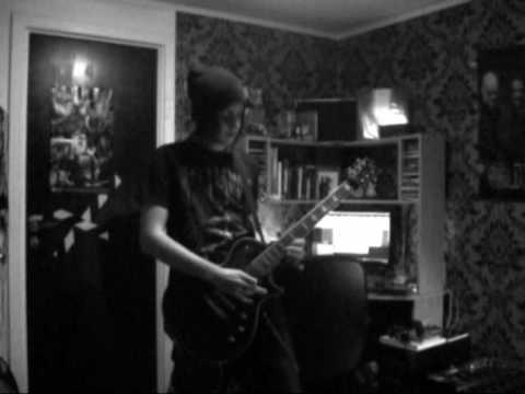 As I Lay Dying - Nothing Left (Guitar cover) recorded with pod xt