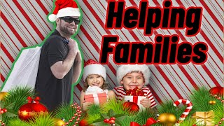 Giving away Christmas presents to families - Social Catfish