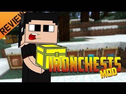 Minecraft para PC: IronChest Mod para 1.4.5. como Instalar y Review!! (Forge)