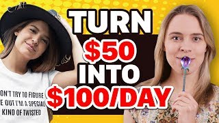 💰 3 Ways To Turn $50 Into $100/DAY Passive Income (Earn $$$ While You SLEEP) Passive Income Ideas