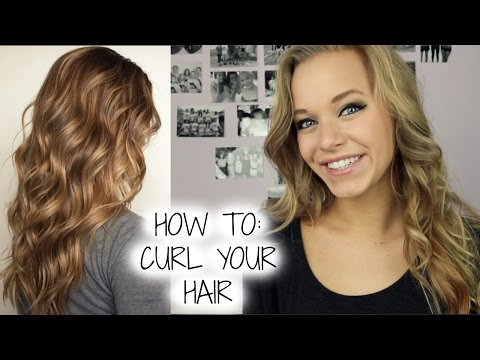 HOW TO: CURL YOUR HAIR (the right way)