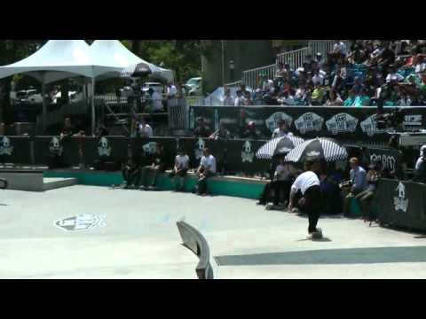 Brian Anderson Nollie half cab a beach ball Maloof Money Cup NYC2011