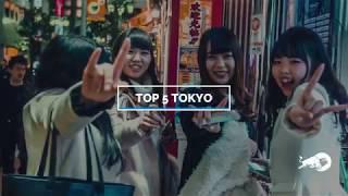TOP 5 TOKYO   Lahedad kohad Instagrami jaoks