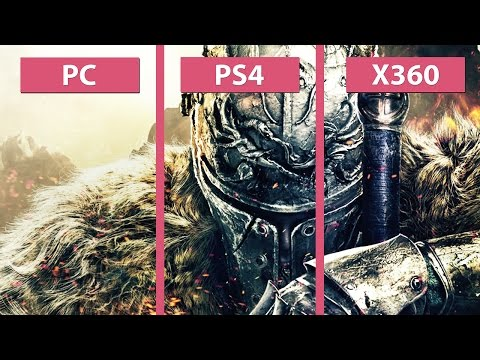 Dark Souls 2: Scholar of the First Sin – PC vs. PS4 vs. Xbox 360 Graphics Comparison [60fps][FullHD]