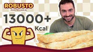 Desafio #25  - Pastéis gigantes (3.4kg, 13700kcal)