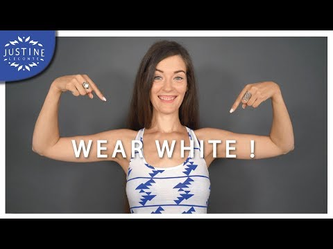 How to wear white & make it work for you ǀ Summer wardrobe ǀ Justine Leconte