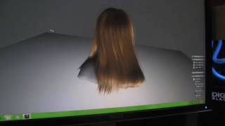 NVIDIA Simulating Realistic Hair - Amazing Techdemo