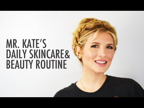 Daily Beauty Routine and Everyday Glamour Make-up Tutorial with Mr. Kate