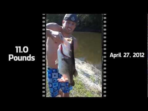 Danny Thomson Bass Fishing Tampa, FL GoPro HD Hero 2