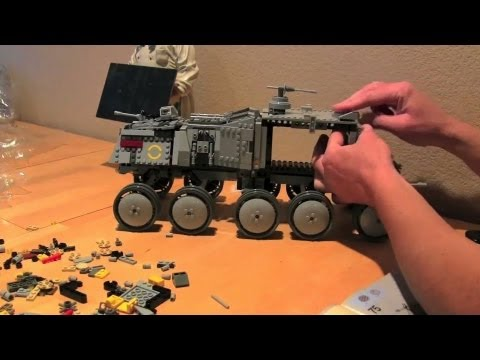 Lego Clone Turbo Tank Build. Unboxing. and Review!    Lego Builds + Reviews    Konas