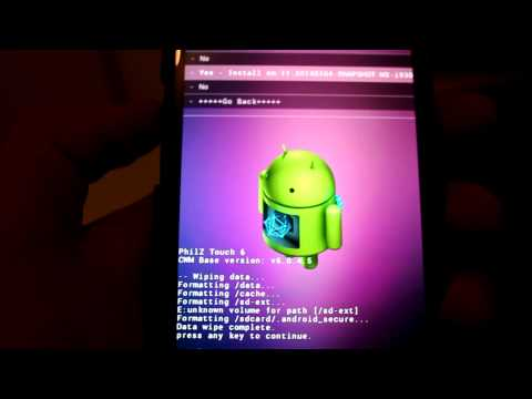 Easy Install official CyanogenMod 11 Android 4.4 Kit Kat on the Samsung Galaxy S3
