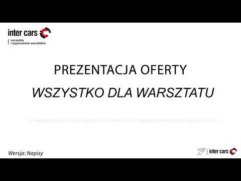 Prezentacja Oferty Wyposażenia Warsztat&...