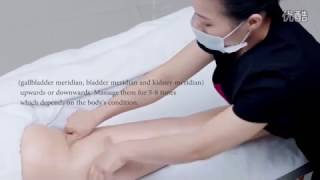 Latoja Sliming Cream Demonstration massage for saloon or beauty slim centre (English Version)