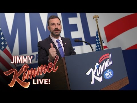 Jimmy Kimmel's First Vice Presidential Campaign Ad