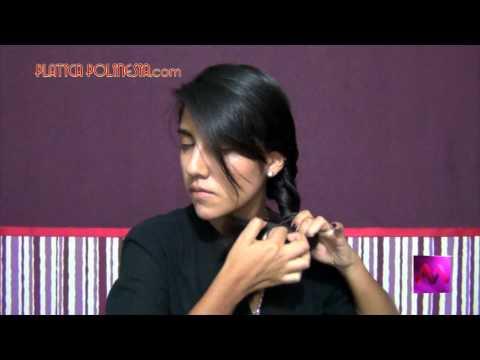5 peinados fáciles y rápidos para cabello mediano y largo   Tutoral de peinados fáciles, rápidos