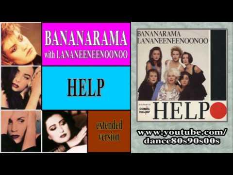 BANANARAMA with LANANEENEENOONOO - Help (extended version)