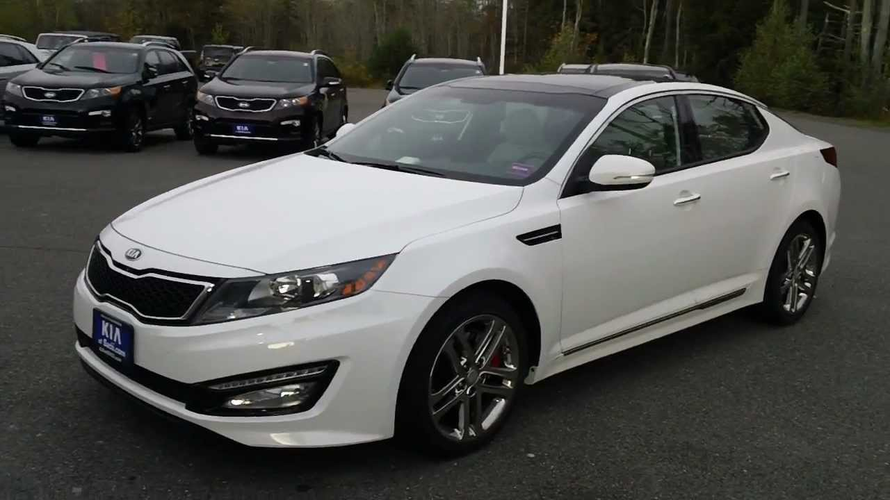 2013 Kia Optima Sxl Turbo Http Www Kiaofsaco Com Youtube