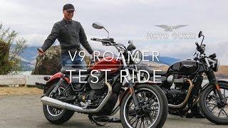 Moto Guzzi V9 Roamer review with Agostini exhaust