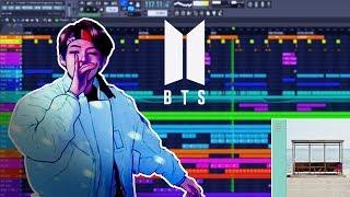 BTS 'Not Today' but it's in FL STUDIO! (Instrumental)