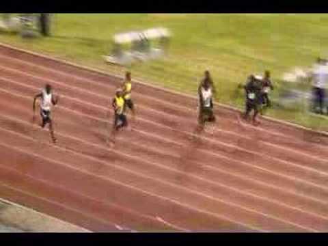 Usain Bolt's 100m - 9.76 Video