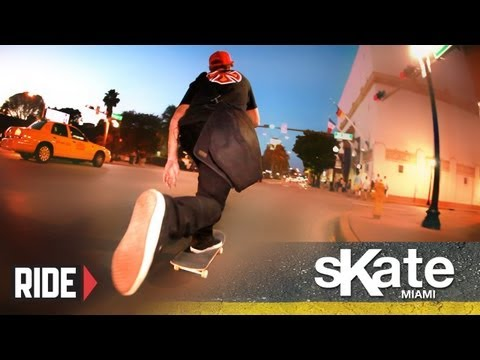 SKATE Miami with Joel Meinholz